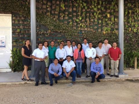 """Taller """"Organización y diagnóstico del grupo de trabajo MRV de Quintana Roo"""""""