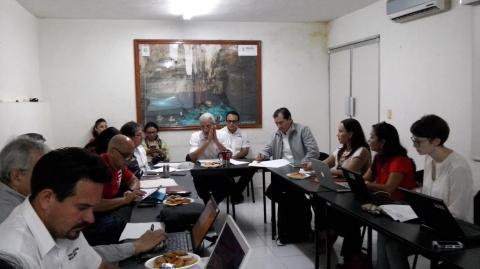 Realizan primera sesión de Comisión de Cambio Climático de la Península