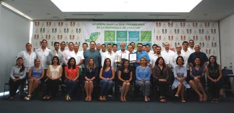 Empresarios de la Península, en alianza por el medio ambiente