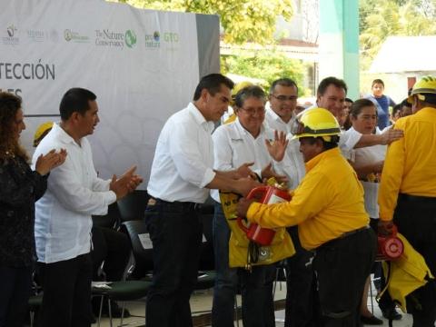 REFORZAMOS EL PROGRAMA ESTATAL DE PREVENCIÓN Y COMBATE DE LOS INCENDIOS FORESTALES 2017 (PEPIF)