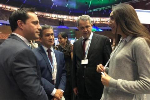 Gobernador Mauricio Vila Dosal logra financiamiento de 400 mil dólares para agenda ambiental Yucatán