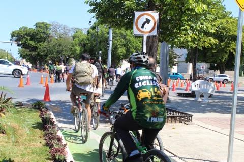 Mérida pedalea rumbo a convertirse en una ciudad ciclista